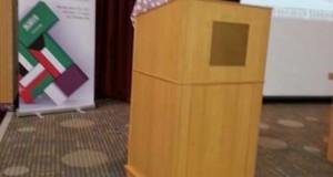 """شاركة عميد كلية التقنيات الحيوية التطبيقية في المؤتمر دولي الذي يحمل عنوان """" تطبيقات المعلوماتية الحياتية والأحصاء الحياتي في علاج السرطان """""""