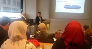 مشاركة المدرس الدكتور علي زيد في برنامج الكورس القصير في ممكلة هولندا