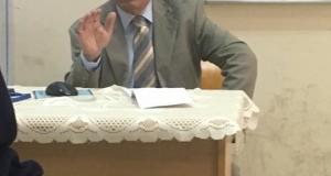 حلقة دراسية لكلية التقنيات الحيوية التطبيقية حول علاج الشيخوخة للطبيب المتقاعد الدكتور زيد فاضل الصفار