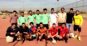 لدعم مسيرة وزارة الشباب والرياضة وجهودها الرامية لرفع الحظر المفروض على الملاعب العراقية