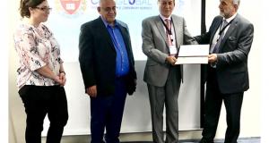 مشاركة الاستاذ المساعد الدكتور حسن محمد نايف بورشة العمل الخاصة بأخلاقيات البحث و النشر العلمي