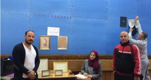 كلية التقنيات الأحيائية تشارك في ابداعات الخط العربي والزخرفة في معرض جامعة النهرين