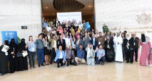 كلية التقنيات الاحيائية تشارك في مؤتمر ومعرض الشرق الأوسط الرابع للبيولوجيا