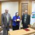 تكريم الاستاذ الدكتورة خلود وهيب السامرائي لحصولها على لقب استاذ متمرس