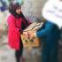 تقنيات النهرين تقود حملة تطوعية لمساعدة العوائل المتعففة في العراق