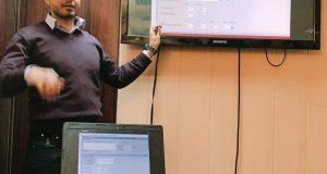 كلية التقنيات الاحيائية  تقيم دورة تدريبية  مجانية لخريجيها  حول استخلاص  الحامض النووي DNA)) وتصميم البوادئ