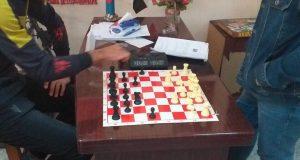 شعبة النشاطات الطلابية في كلية التقنيات الاحيائية  تنظم بطولة لعبة الشطرنج