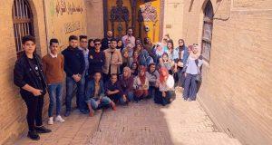 كلية التقنيات الاحيائية في جامعة النهرين تنظم سفرة علمية الى المتحف الوطني العراقي