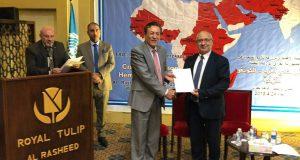 كلية التقنيات الاحيائية تشارك في ورشة علمية إقامتها منظمة الأغذية والزراعة التابعة للأمم المتحدة ( FAO ) في جمهورية العراق.