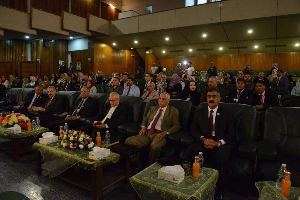 كلية التقنيات الاحيائية تشارك في وقائع المؤتمر العلمي الدولي الرابع لمعهد الهندسة الوراثية والتقنيات الأحيائية