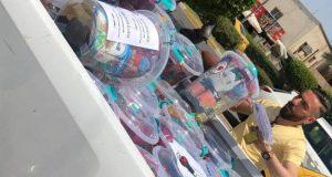 التقنيات الاحيائية  تطلق حملة توزيع 100 سلة غذائية  لاستقبال شهر رمضان المبارك