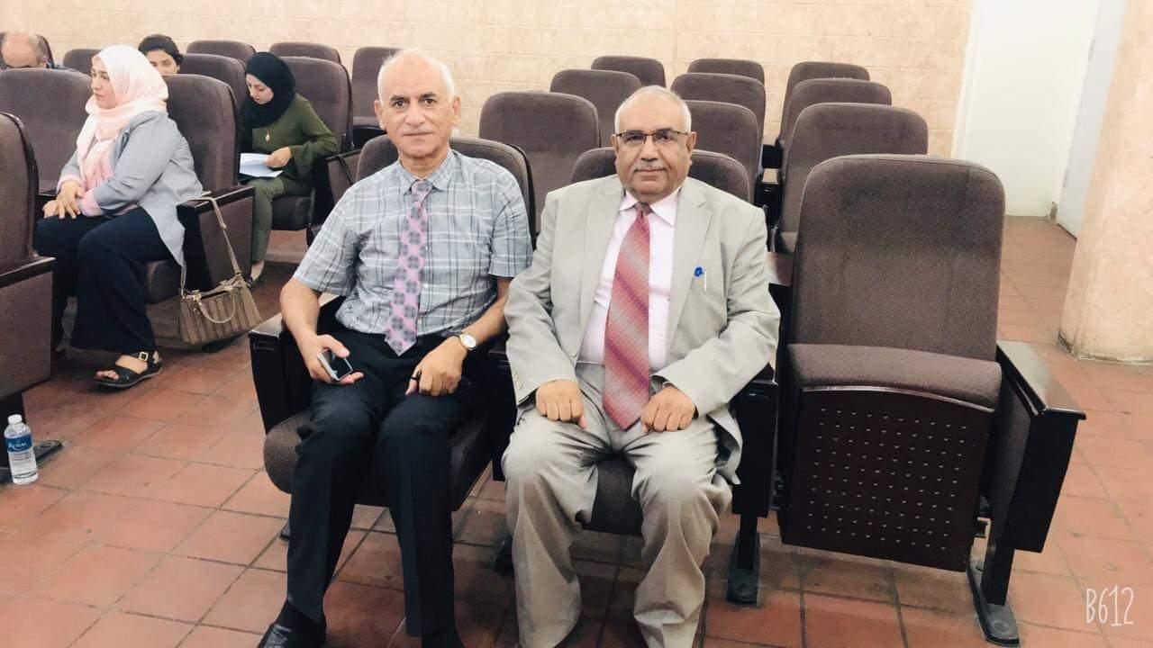 لجنة من كلية التقنيات الاحيائية/ جامعة النهرين  تزور جامعة بغداد للمباشرة في تصحيح وتدقيق الامتحانات التقويمية