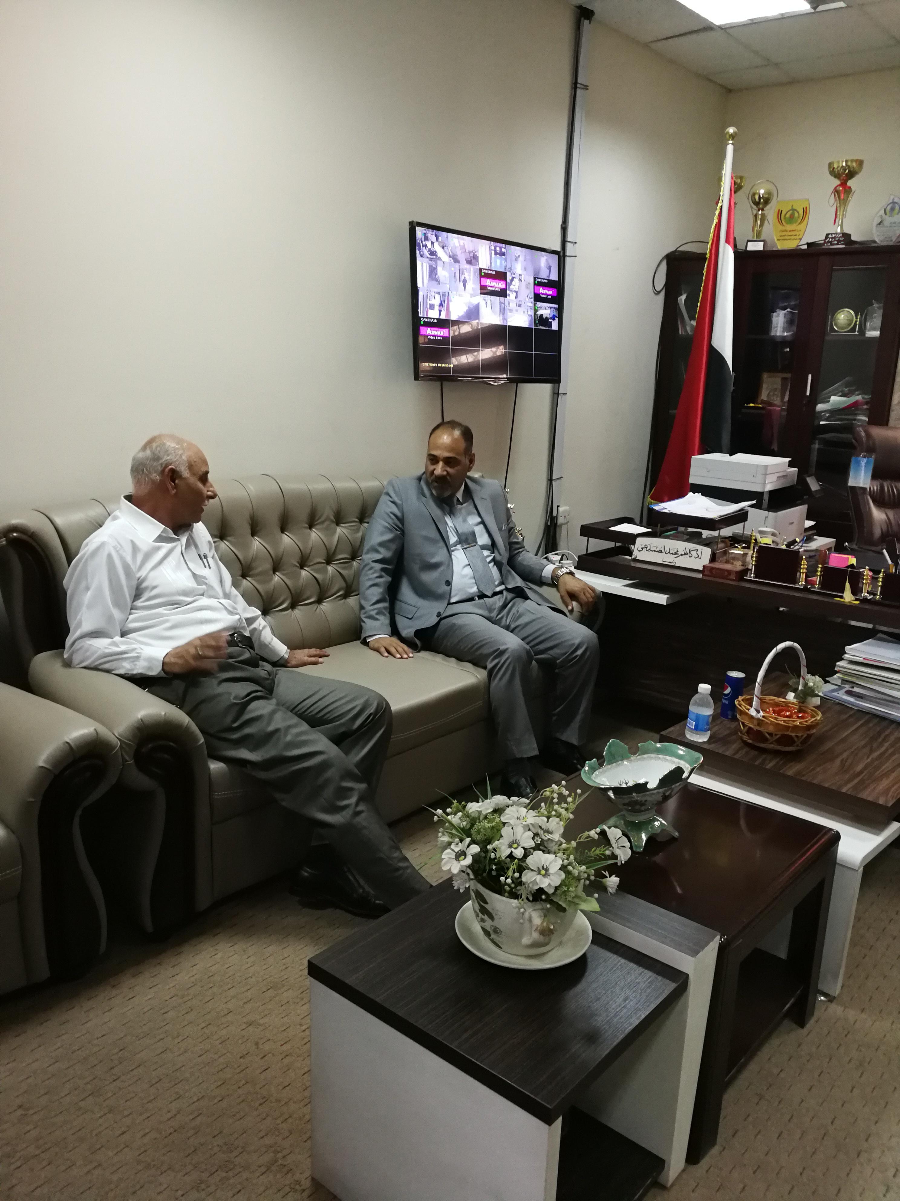 زيارة تفــقدية للسيد رئيس جامعة