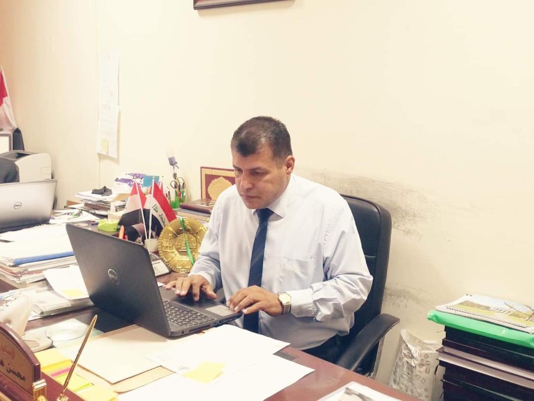 شكر وتقدير  للاستاذ الدكتور محسن هاشم رسن