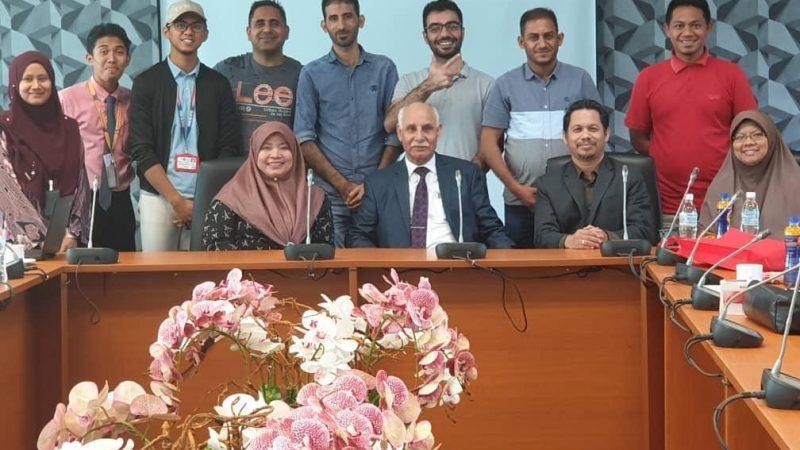 جامعة السلطان ادريس الماليزية تستضيف الأستاذ الدكتور كاظم محمد ابراهيم