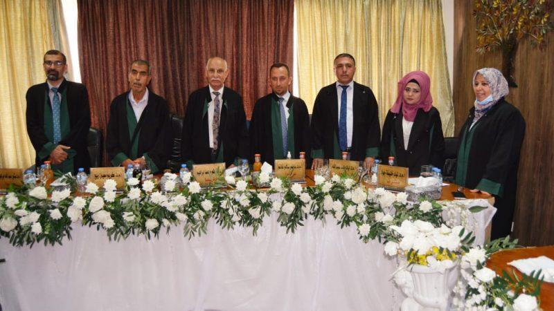 لسيد عميد كلية التقنيات الاحيائية/جامعة النهرين يترأس لجنة مناقشة أطروحة دكتوراة في جامعة بغداد.